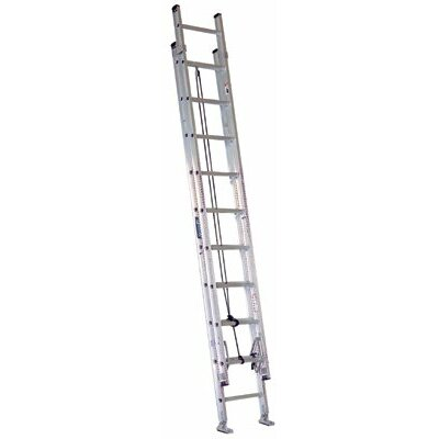 Louisville Ladder Louisville Ladder - Ae2800 Series Aluminum Stacked Extension Ladders Type 1-A  Aluminum 300Lbs Stacked Ext 32' Ladder: 443-Ae2832 - type 1-a  aluminum 300lbs stacked ext 32' ladder
