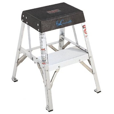 Louisville Ladder AY8000 Series Aluminum Step Stands - 1' industrial aluminum step stand