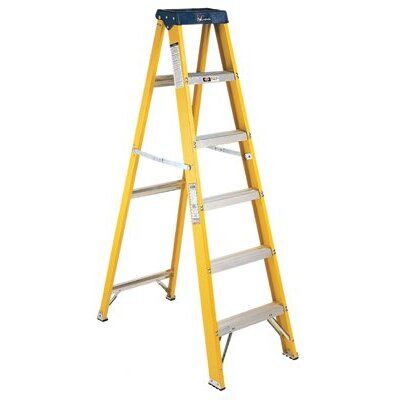 Louisville Ladder FS2000 Series Pioneer Fiberglass Step Ladders - 6'pioneer fiberglass step ladder