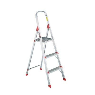 Louisville Ladder 3-Step Folding Euro Step Stool