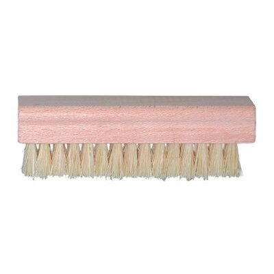 Magnolia Brush Hand & Nail Brushes - white plastic hand & nail brush