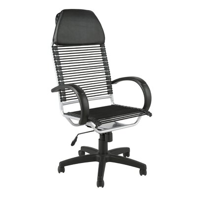 Eurostyle Bungie High-Back Flat Executive Office Chair with Arms