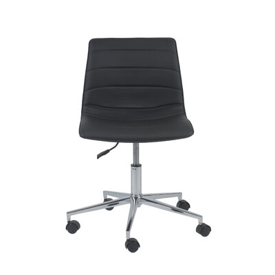Eurostyle Ashton Low-Back Leatherette Office Chair