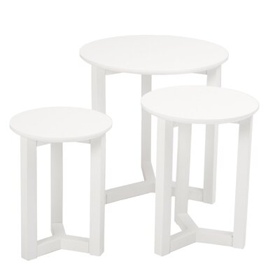 Eurostyle Nicolo 3 Piece Nesting Tables