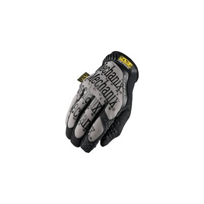 Mechanix Wear Large Black Original Grip Mechanics Gloves With Synthetic Leather Fingertips And Silicone Coated Index Finger