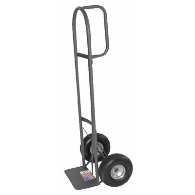 "Milwaukee Hand Trucks D-Handle Hand Trucks - d-handle hand truck w/10"" pneumatic tires"