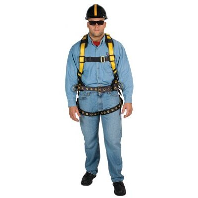 MSA Workman® Construction Harnesses - workman harn const tbls2sd std shldpad
