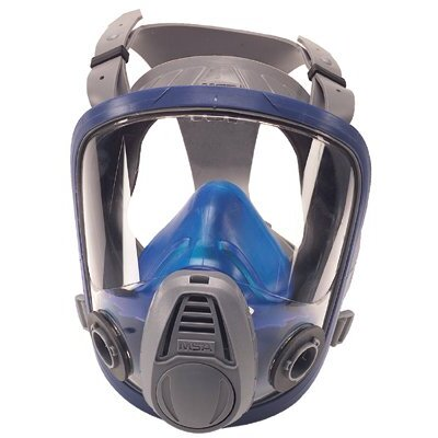 MSA Advantage® 3200 Twin Port Respirators - advantage 3200 twin cartridge large respirator