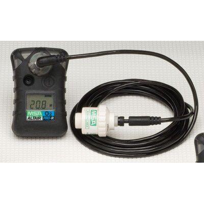 MSA Pro Single Gas Detector For Remote Oxgen