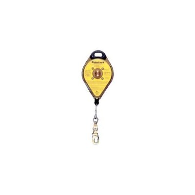 MSA Self Retracting Lanyard w/16M-50' Galvanized Wire Rope & RL20S