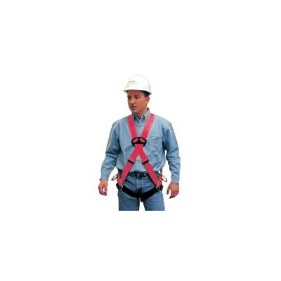 MSA Pro™ Standard Size Vest Style Harness With Back And Hip D-Rings