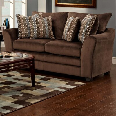 Franklin Rocky Velvet Loveseat