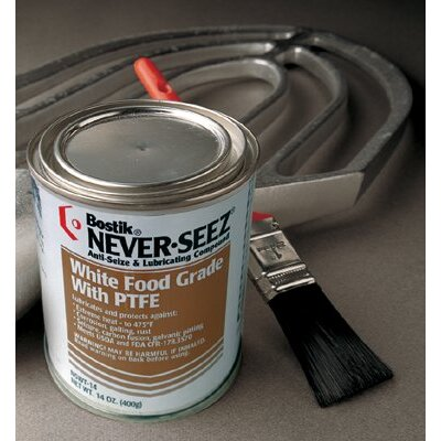 Never-Seez White Food Grade Compound w/PTFE - 14oz white food grade w/ptfe lubricant 2