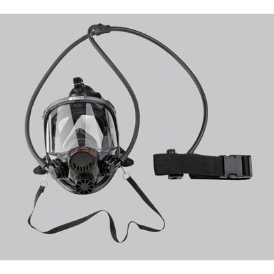 North Safety Series Continuous Flow Airline 7600 Full Face Respirator Mask Size Small