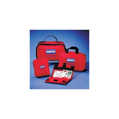 "North Safety 7"" X 4 1/2"" X 1 1/2"" Promotional/Individual First Aid Kit"