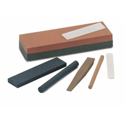 "Norton Combination Grit Abrasive Sharpening Benchstones - jb8 8""x2""x1""crystoloncombination stone"