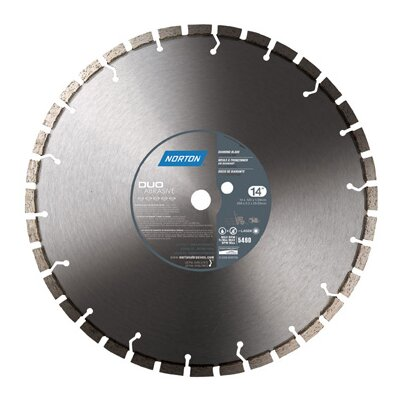 Norton DUO Abrasive Diamond Blade
