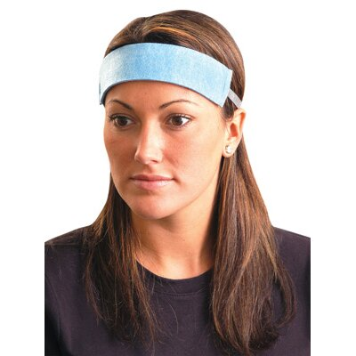 OccuNomix Size Fits All Blue Original Soft Disposable Sweatband