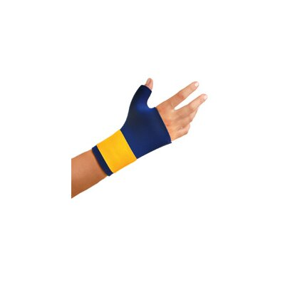 OccuNomix Navy Neoprene Thumb And Wrist Support