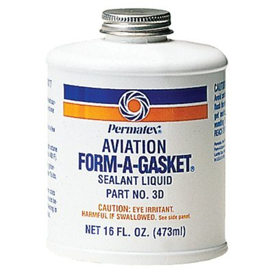 Permatex Form-A-Gasket® Sealants - aviation form-a-gasket #3 sealant 16 oz bottle