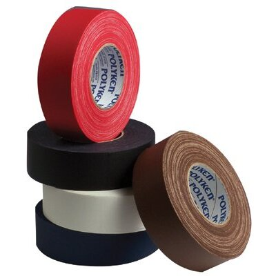 "Polyken Premium Vinyl Coated Gaffers Tapes - 510-2-red 2""x60yds red vinyl coated cloth tape"