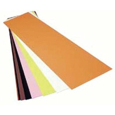 "Precision Brand Color Coded Shims - .004 10""x20""tan plasticcolor coded shim"