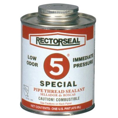 Rectorseal No. 5® Special Pipe Thread Sealants - no.5 1pt special btc pipe thread sealant gra