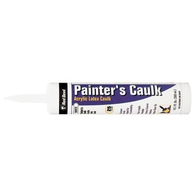 Red Devil Painter's Caulk - 10.1fl.oz. all purpose painter caulk white