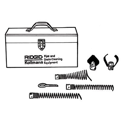 Ridgid Drain Cleaner Tool Kits - a-61 tool kit f/k60
