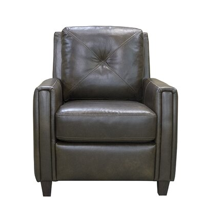 Topeka Leather Club Chair