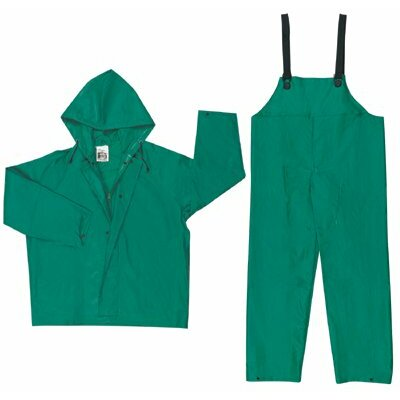 River City Dominator 2-Piece Rain Suits Dominator  .42Mm  Pvc/Nylon/Pvc  Suit 2 Pc Green: 611-3882X3 - dominator  .42mm  pvc/nylon/pvc  suit 2 pc green