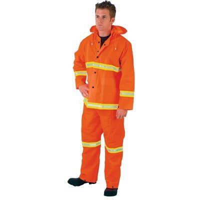 River City Luminator Rainwear - x-large luminator pvc/polyester 3 piece rainsuit