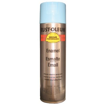 Rust-Oleum Rust-Oleum - High Performance V2100 System Enamel Aerosols 838 Light Blue Finish: 647-V2123838 - 838 light blue finish