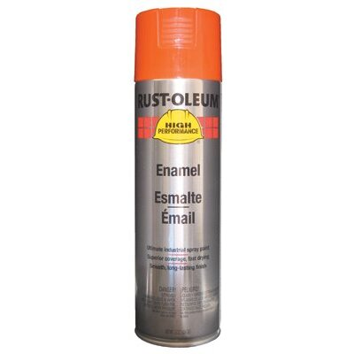 Rust-Oleum Rust-Oleum - High Performance V2100 System Enamel Aerosols 838 Equipment Orange Finsih: 647-V2156838 - 838 equipment orange finsih