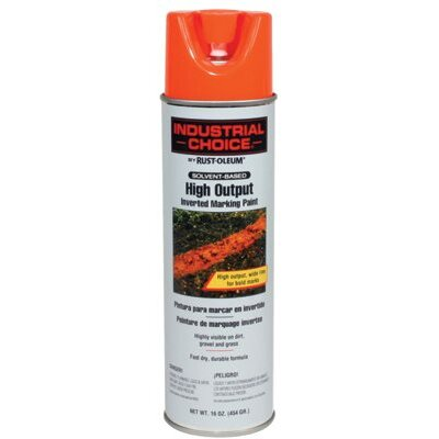 Rust-Oleum Industrial Choice M1700 System High Output Red Inverted Marking Paint