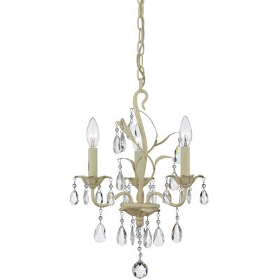 Ophelia 3 Light Mini Chandelier