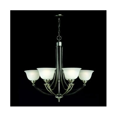 Quoizel Delray 6 Light Chandelier