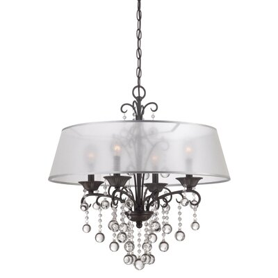 Carrabelle 4 Light Candle Chandelier