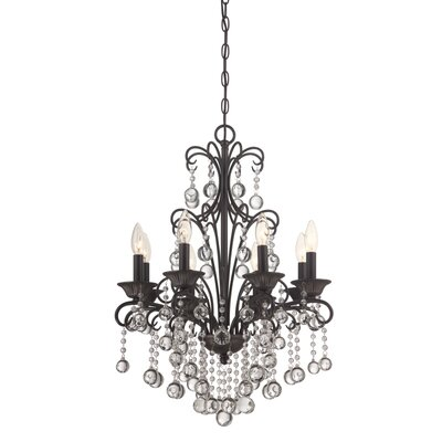 Carrabelle 8 Light Candle Chandelier