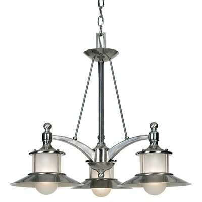 Quoizel New England 3 Light Chandelier