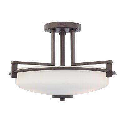 Quoizel Taylor 3 Light Semi Flush Mount