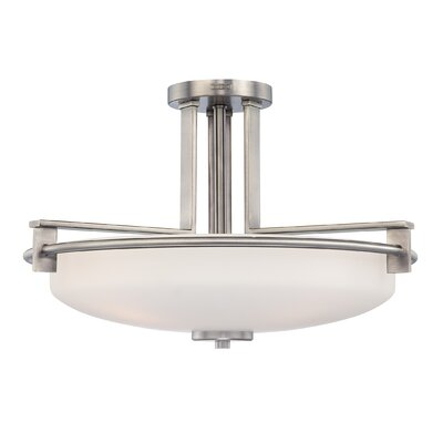 Quoizel Taylor Semi Flush Mount