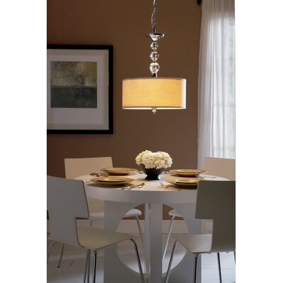 Quoizel Downtown 3 Light Drum Pendant | Wayfair