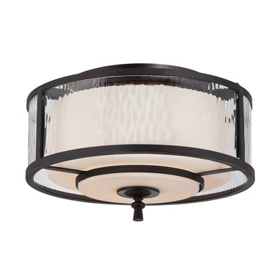 Quoizel Adonis 2 Light Flush Mount