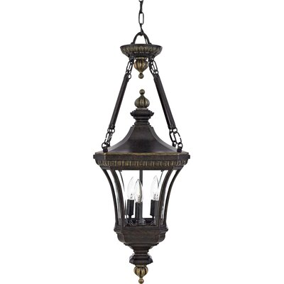 Quoizel Devon 3 Light Outdoor Hanging Lantern
