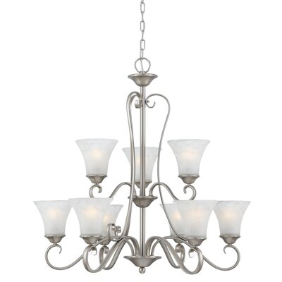 Quoizel Duchess 9 Light Chandelier