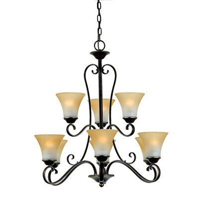 Duchess 9 Light Chandelier