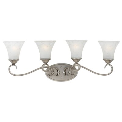 Quoizel Duchess Vanity Light in Antique Nickel