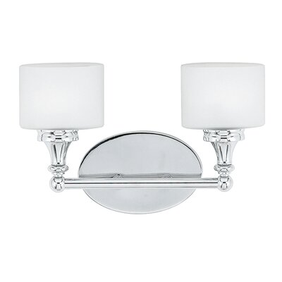 Quoizel Quinton  Bath Sconce in Polished Chrome