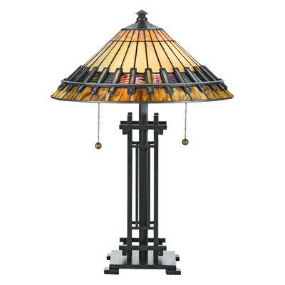 Quoizel Tiffany Chastain Table Lamp